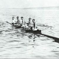 Un'immagine dei primi armi del Circolo