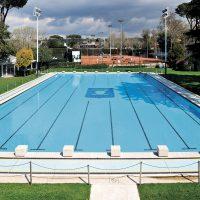 La piscina esterna del Circolo Canottieri Aniene