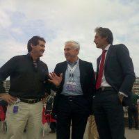 Il Presidente ISAF Carlo Croce (al centro)