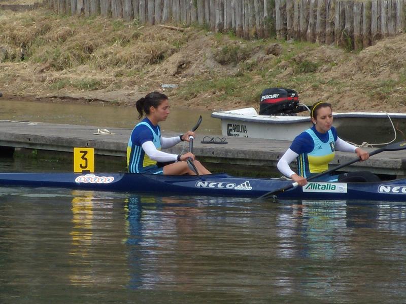Cristina Petracca e Norma Murabito durante le gare di Mantova.